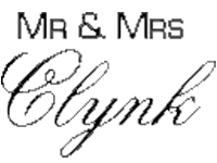 Mr. & Mrs. Clynk