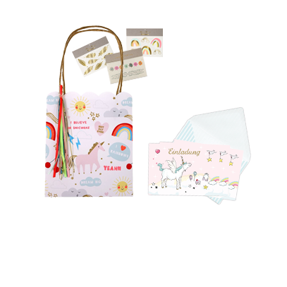 Party Bags & Invitation Cards