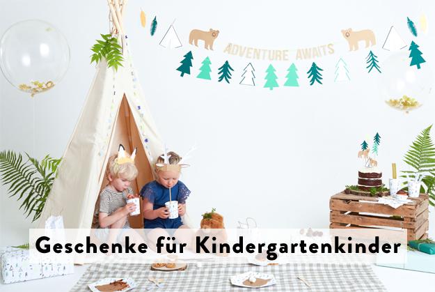 Geschenke für Kindergartenkinder