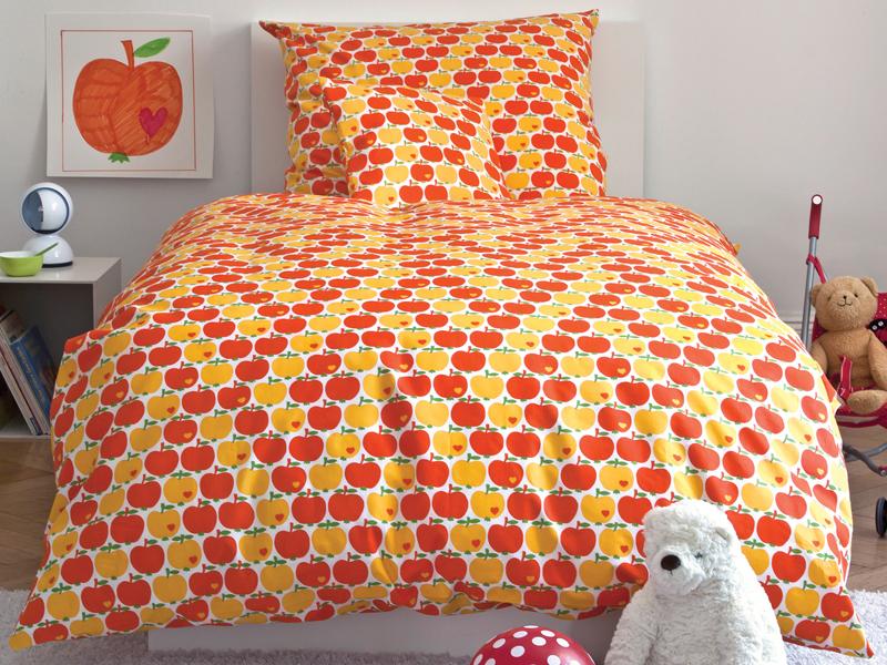 Apfel Bettwäsche Set In Orange Von Bygraziela Takatomode