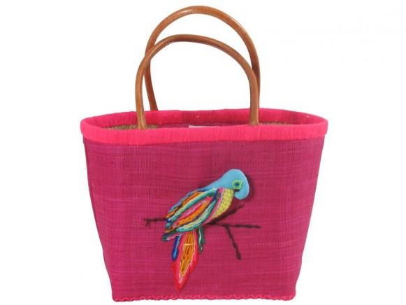 RICE Tasche Papagei