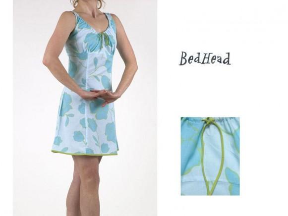 Blue Tulips Voile Chemise von BedHead