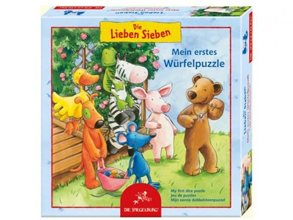 Würfelpuzzle Die Lieben Sieben von Spiegelburg
