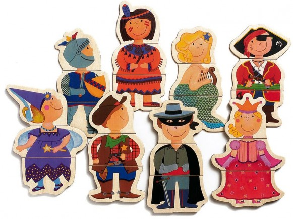Djeco Magnetspiel Verkleidete Kinder