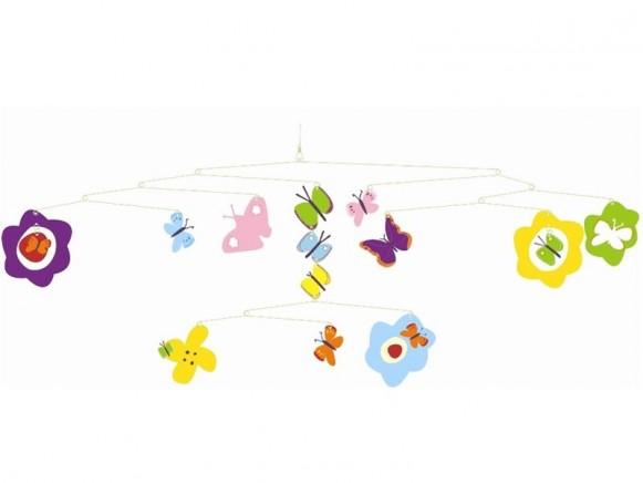 Djeco Mobile mit Schmetterlingen