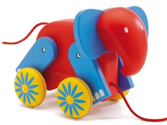 Nachziehtier Elefant Indy von Djeco