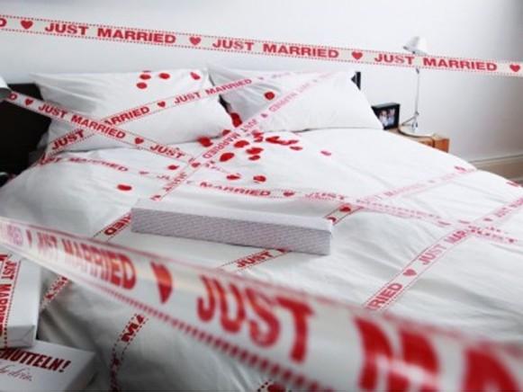 Hochzeitsklebeband Just married von donkey products