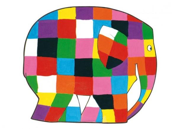 Tischset Elmar in Elefantenform von Petit Jour