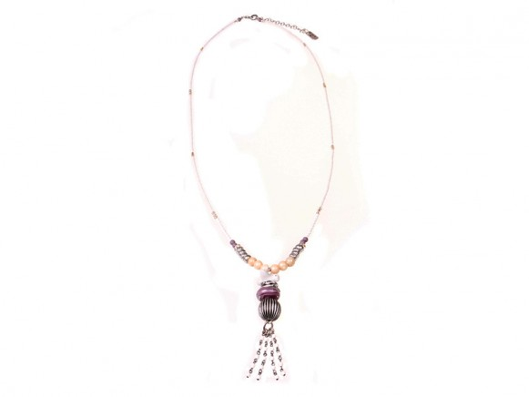 FIVA Halskette (Perlmutt, Keramik, Murano, Swarovski)