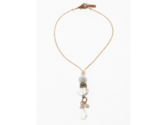 FIVA Halskette (KK, Murano, Swarovski, Bergkristall)