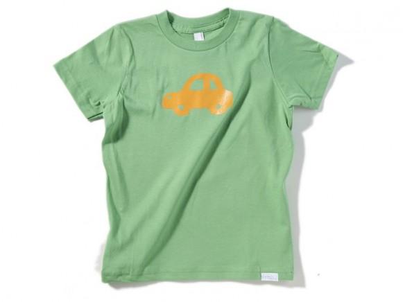Kinder-Shirt Auto von Fritzi Shirt