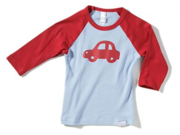 Kinder-Shirt Auto von Fritzi Shirt (3/4 Arm)