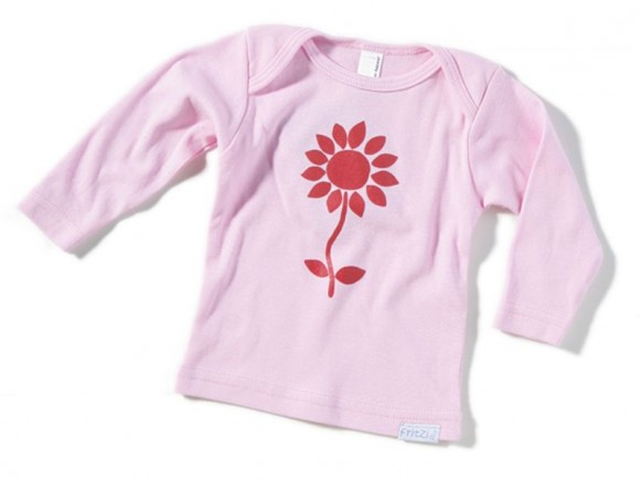 Kleinkinder-Shirt Blume von Fritzi Shirt