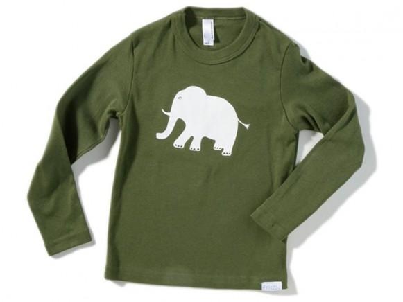 Kinder-Shirt Elefant von Fritzi Shirt