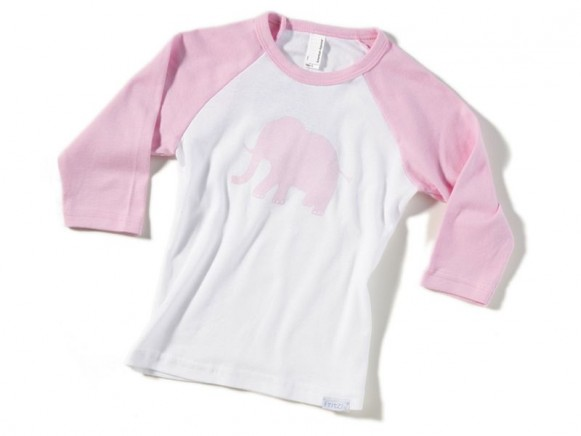 Kinder-Shirt Elefant von Fritzi Shirt (3/4 Arm)