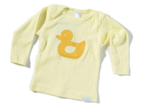 Kleinkinder-Shirt Ente von Fritzi Shirt