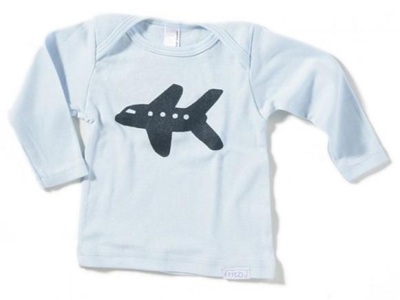 Kinder-Shirt Flugzeug von Fritzi Shirt