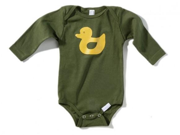 Babybody / Strampler Ente von Fritzi Shirt