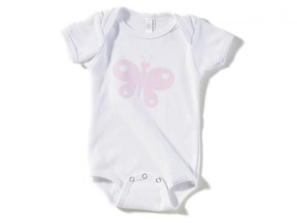 Babybody / Strampler Schmetterling von Fritzi Shirt