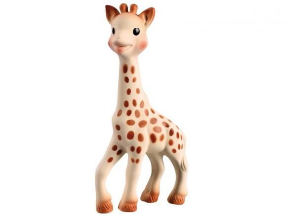 Grosse Giraffe Sophie la girafe im Geschenkkarton