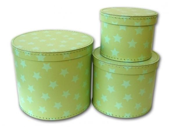 Box in grün mit Sternchen von TOYS & Company