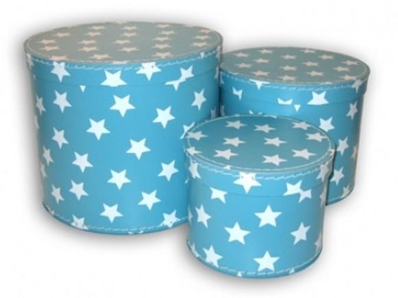 Box in türkis mit Sternchen von TOYS & Company
