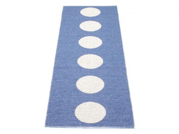 Pappelina Teppich Vera in blau