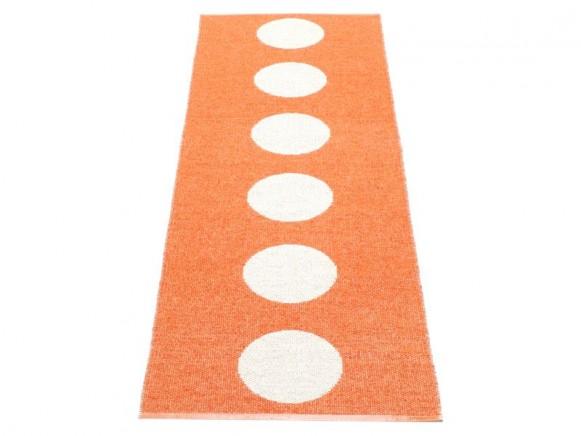 Pappelina Teppich Vera in orange