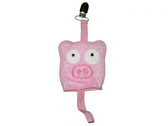 Schnullerschnur Schwein von Petit Appetit