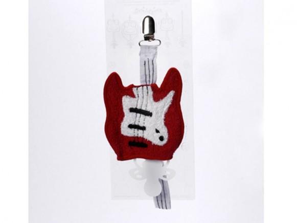 Schnullerschnur Gitarre von Petit Appetit