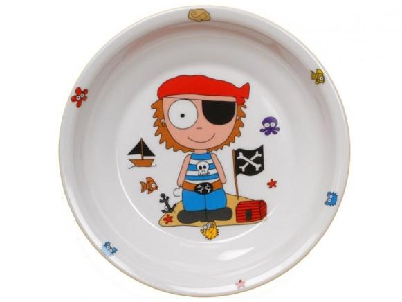 Kinderteller Pirat von Petit Appetit