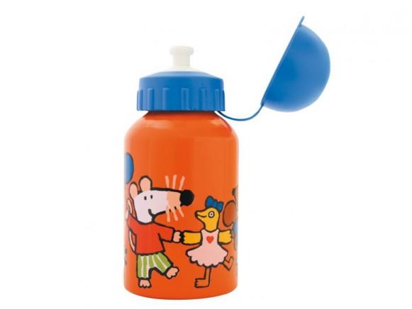 Stabile Trinkflasche mit Mausi von Petit Jour