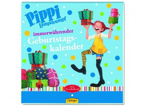 Pippi Langstrumpf Geburtstagskalender