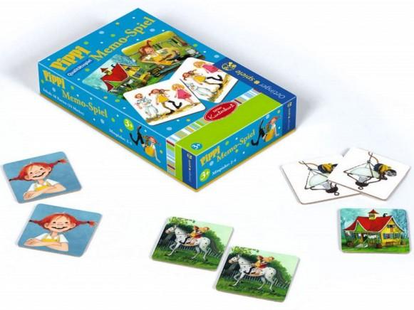Pippi Langstrumpf Memo-Spiel