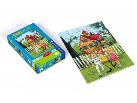 55teiliges Pippi Langstrumpf Puzzle