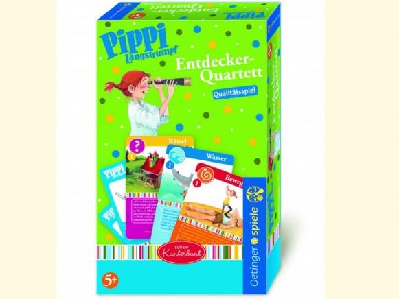 Pippi Langstrumpf Entdecker-Quartett