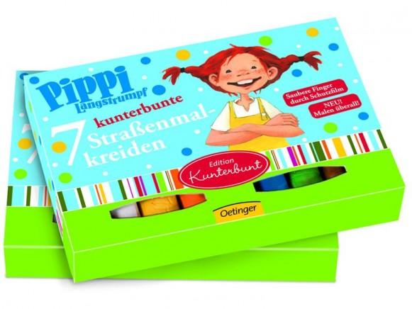 Pippi Langstrumpf Straßenmalkreide