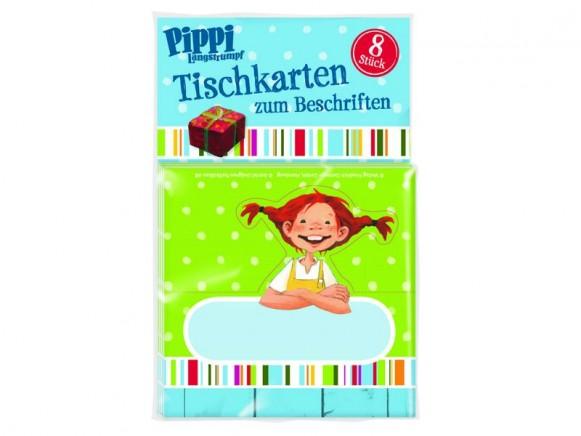 Pippi Langstrumpf Tischkarten