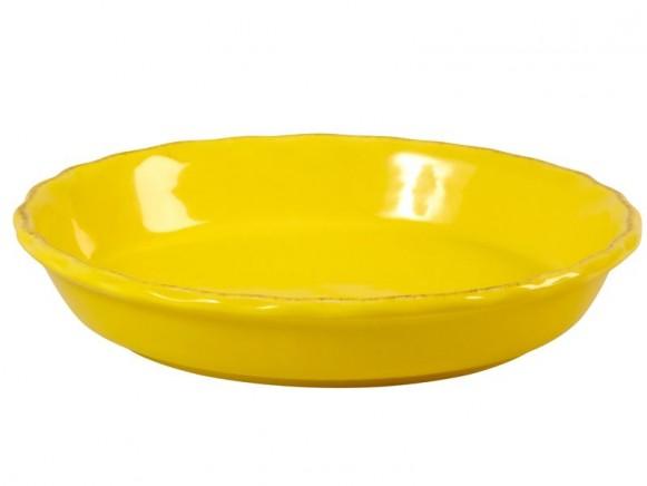 Gelbe Backofenform im Toskana-Stil von RICE