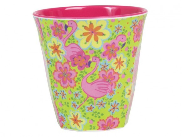 RICE Becher Flamingo