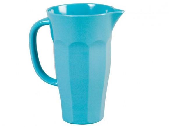 1-Liter Pitcher aus türkisfarbenem Melamin von RICE