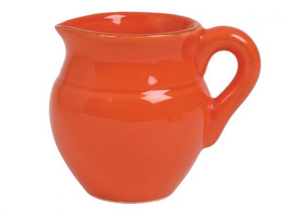 Orangefarbenes Milchkännchen im Toskana-Stil von RICE