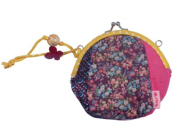Geldbörse mit Patchworkmuster von RICE (kleine Blumen)
