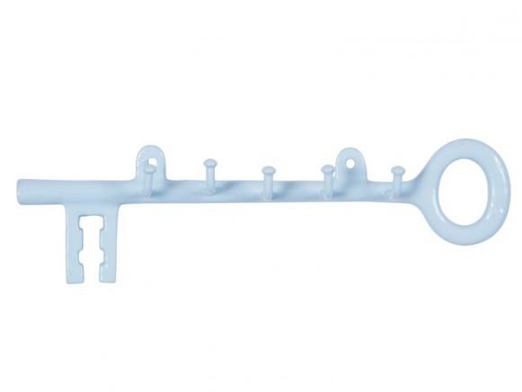 Schlüsselhalter aus Metall in blau von RICE Dänemark