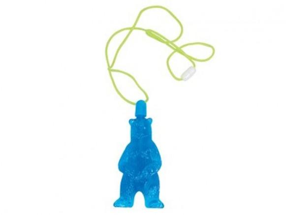 Seifenblasen in Bären-Anhänger von RICE
