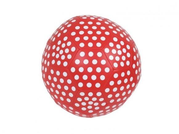 Kleiner rot-weisser Softball von RICE