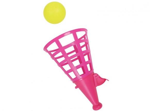 Klick-und-Fang-Spiel in pink von RICE
