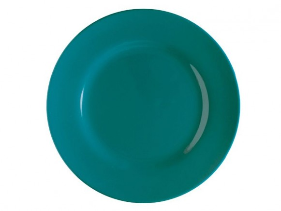 Grosser Teller von RICE (pfauengrün)