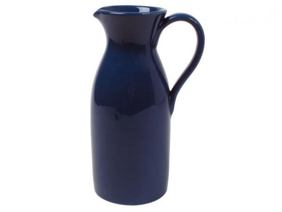 Hohe Kanne in pfauenblau im Toskana-Stil von RICE