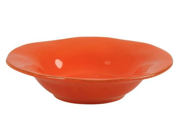 Orangefarbene Pastaschüssel im Toskana-Stil von RICE